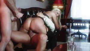 Incredible pornstar Silvia Monti in absurd blonde, mature porn scene