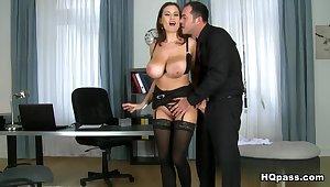 Hottest pornstars Animal Jane, James Brossman in Horny Big Tits, MILF sex clip