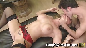 James Deen nails fast busty comme ci milf Tanya Tate