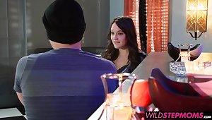 Shay Fox interrupts a romantic dinner between the reinforcer