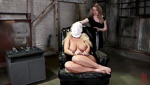 Ass unenclosed lesbian femdom for several dirty sluts
