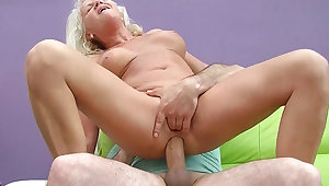 sexy 73 years old mom first chunky cock anal fuck