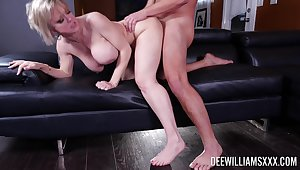 Exclusive matured porn with the busty woman acting uncompromisingly slutty