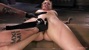 Awe and hanker be worthwhile for submissive Cherie DeVille in a Dom's donjon