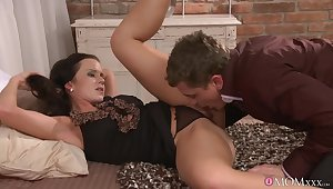 Erotic fucking adjacent to the evening approximately luring wife Cindy Dollar