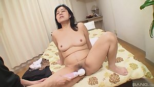 Mako Anzai gets her fur burger played with and fucked everlasting