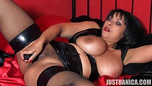 Video of be in charge wife Danica Collins pleasuring her cravings