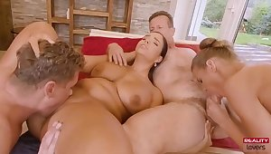 Increadible Hot Foursome Sex - George uhl