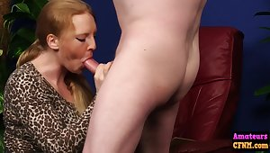 Hungry Cfnm Chick Goes Wind up b relax Dick